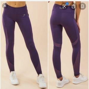 Gymshark Purple Sleek Sculpture Leggings Large